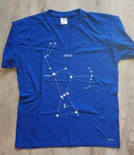 T-shirt Orion blue cr re